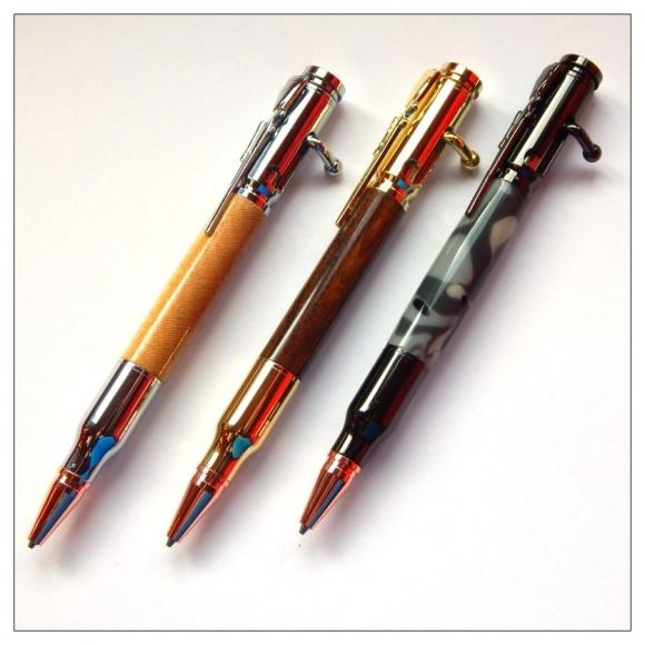 Bolt Action Pencil Kits Penkitzandbitz
