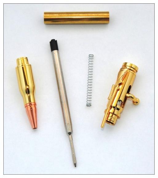 Bolt Action Pen Kits