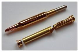 Bullet Twist Pen - Gold