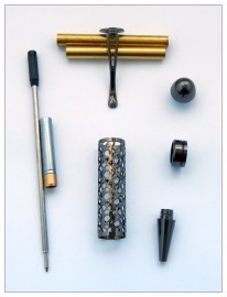 European Filigree Pen Kit - Gunmetal