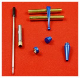 Blue Enamel x 5 - Fancy Slimline