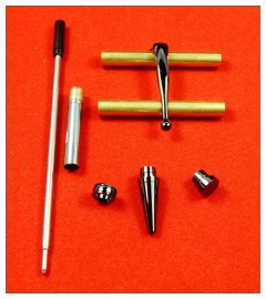 Gunmetal x 5 - Fancy Slimline
