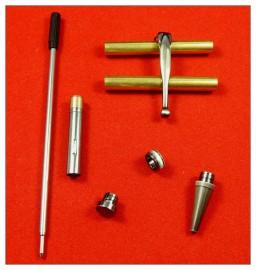 Gunmetal Polished x 5 - Fancy Slimline