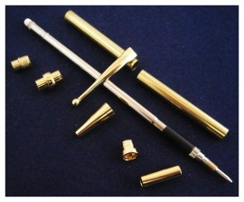 Fancy Slimline Pencil Kit - Gold