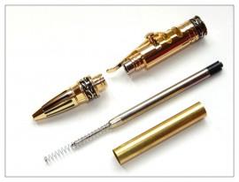 Gear Shift Pen - Gold