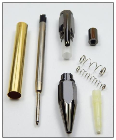 Hexagonal Click Pen
