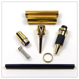 Lg Jnr Gentleman Rollerbal Pen Kit - Gold