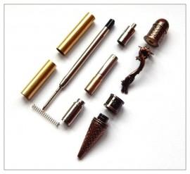 Loong Dragon Twist Pen - Antique Rose Copper