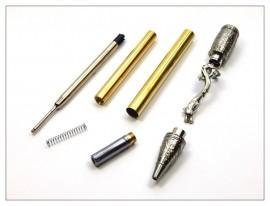 MT Kunlun Dragon Twist Pen - Antique Nickel