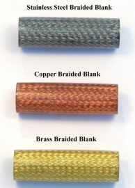Stainless Steel Braided Blank - Fits Victorian Steampunk Kit