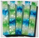 Blue and Green Crush Pen Blank