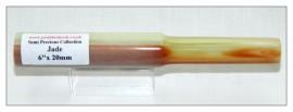 """Jade Pen Blank (Rod) 6"""" x 20mm"""