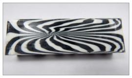 Zebra Acrylic Blank / Knife Scales