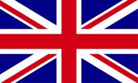 PKB Union Jack Blank - Flag Series - Fits Cierra / Sierra Pen Kits Etc.