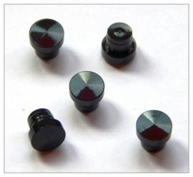 Fancy Slimline / Slimline Pen Cap - Black Chrome x 5
