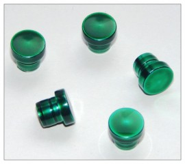 Fancy Slimline / Slimline Pen Cap - Green x 5