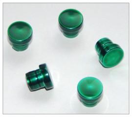 Fancy Slimline / Slimline Pen Cap - Green x 5