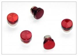 Fancy Slimline / Slimline Pen Cap - Red x 5