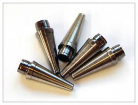 Fancy Slimline / Slimline Pen Tip - Polished Gunmetal x 5