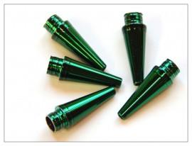 Fancy Slimline / Slimline Pen Tip - Shiny Green x 5