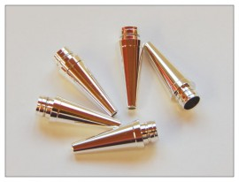 Fancy Slimline / Slimline Pen Tip - Silver x 5