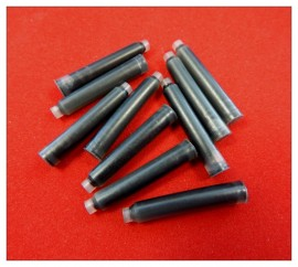 Fountain Pen Refills - Black x 10