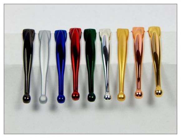 7mm Pen Clips - Gold