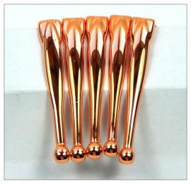 Fancy Slimline Pen Clips x 5 - Copper