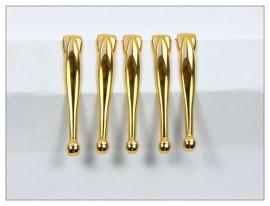 Fancy Slimline Pen Clips x 5 - Gold