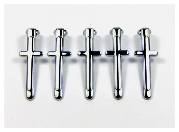 7mm Pen Clips - Chrome