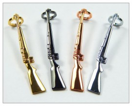 Rifle Pen Clips x 4 - 1 of each finish