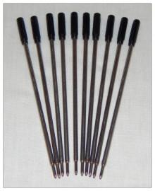 Pen Refills - Slimline - Black x 10