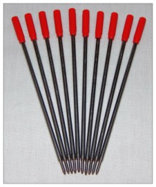 Pen Refills - Slimline - Red x 10