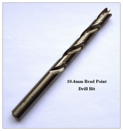 10.4mm Brad Point Drill Bit