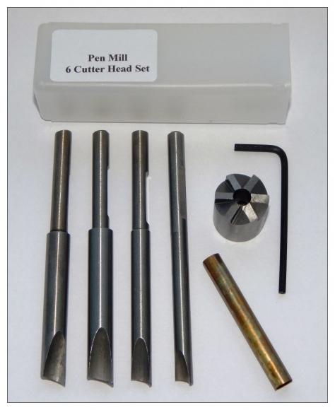 Pen Mill - 6 Cutter Head Set