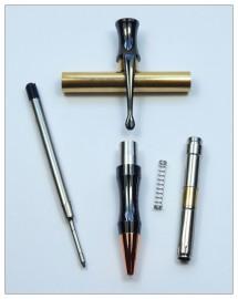 Rocket Bullet Pen Kit - Gunmetal