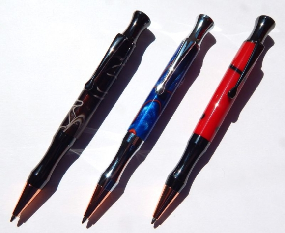 Rocket Bullet Pen Kits
