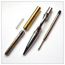 Cierra Elegant Beauty Pen Kit - Chrome and Satin Chrome
