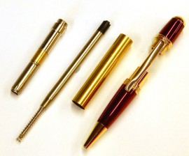 Cierra Pen Kit - Gold and Red
