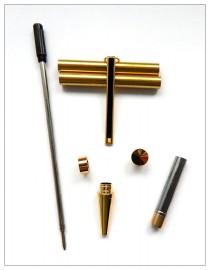 Gold with Black Line x 5 - Slimline