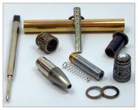 Spiritual Twist Pen - Gun Polish