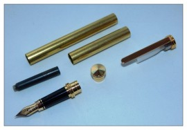 Traditional Fountain Pen Kits - Gold