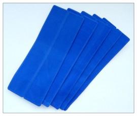 Velvette Sleeves (Blue) x 10
