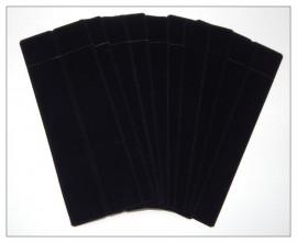 Velvette Sleeves (Black) x 10