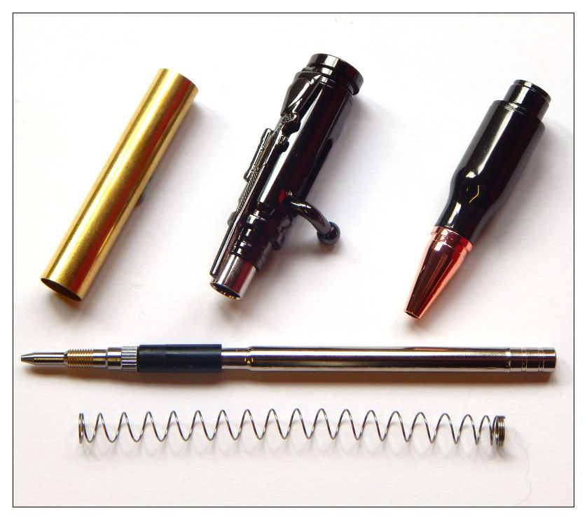 Bolt Action Pencil Kit Instructions Penkitzandbitz